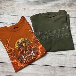 HARLEY DAVIDSON   Graphic T-Shirt Lot Sz XL